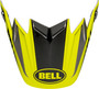 Bell Replacement Moto-9 Flex Peak (Division M/G Black/Hi Viz/Gray)
