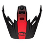Bell Replacement MX-9 Adventure Peak (Switchback Black/Red/White)