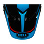 Bell Replacement MX-9 Peak (Torch Cyan/Red)