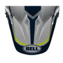 Bell Replacement MX-9 Peak (Torch White/Blue/Yellow)