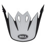 Bell Replacement MX-9 Peak Presence (Black/White/Red)