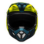 Bell MX MX-9 Mips Adult Helmet (Strike Blue/Yellow)