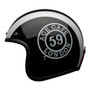 Bell Cruiser Custom 500 DLX Adult Helmet (Ace Cafe 59 Black White)