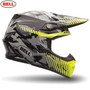 Bell Moto-9 Adult Helmet (Yellow Camo)