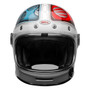 NEW Bell Cruiser 2020.2 Bullitt DLX Helmet (Barracuda White/Red/Blue)