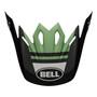Bell Replacement Moto-9 Mips Peak (Prophecy Matte Black/Dark Green)