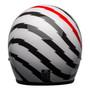 Bell Cruiser 2021 Custom 500 SE Adult Helmet (Vertigo White/Black/Red)