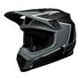 Bell MX 2021.1 MX-9 Mips Adult Helmet (Twitch Replica Matte Black/Grey/White)