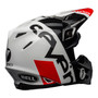 Bell MX 2021.1 Moto-9 Flex Adult Helmet (Seven Galaxy Black/White/Red)