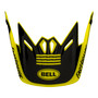 Bell Replacement Youth Moto-9 Peak (Fasthouse Newhall Hi-Viz/Black)