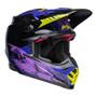 Bell MX 2022 Moto-9S Flex Adult Helmet (Slayco Black/Purple)