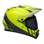 Bell MX 2022 MX-9 Adventure Mips Adult Helmet (Hi-Viz Yellow/Grey)