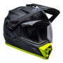 Bell MX 2022 MX-9 Adventure Mips Adult Helmet (Stealth Camo Matte Black/Hi-Viz)