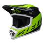 Bell MX 2022 MX-9 Mips Adult Helmet (Disrupt Black/Green)