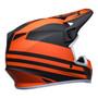 Bell MX 2022 MX-9 Mips Adult Helmet (Disrupt Matte Black/Orange)