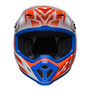 Bell MX 2022 MX-9 Mips Adult Helmet (Disrupt White/Orange)