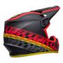Bell MX 2022 MX-9 Mips Adult Helmet (Offset Matte Black/Red)