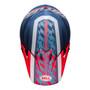 Bell MX 2022 MX-9 Mips Adult Helmet (Offset Matte Metallic Blue/White)