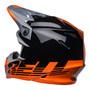 Bell MX 2022 Moto-9 Mips Adult Helmet (Louver Black/Orange)