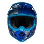 Bell MX 2022 Moto-9 Mips Adult Helmet (Louver Grey/Blue)