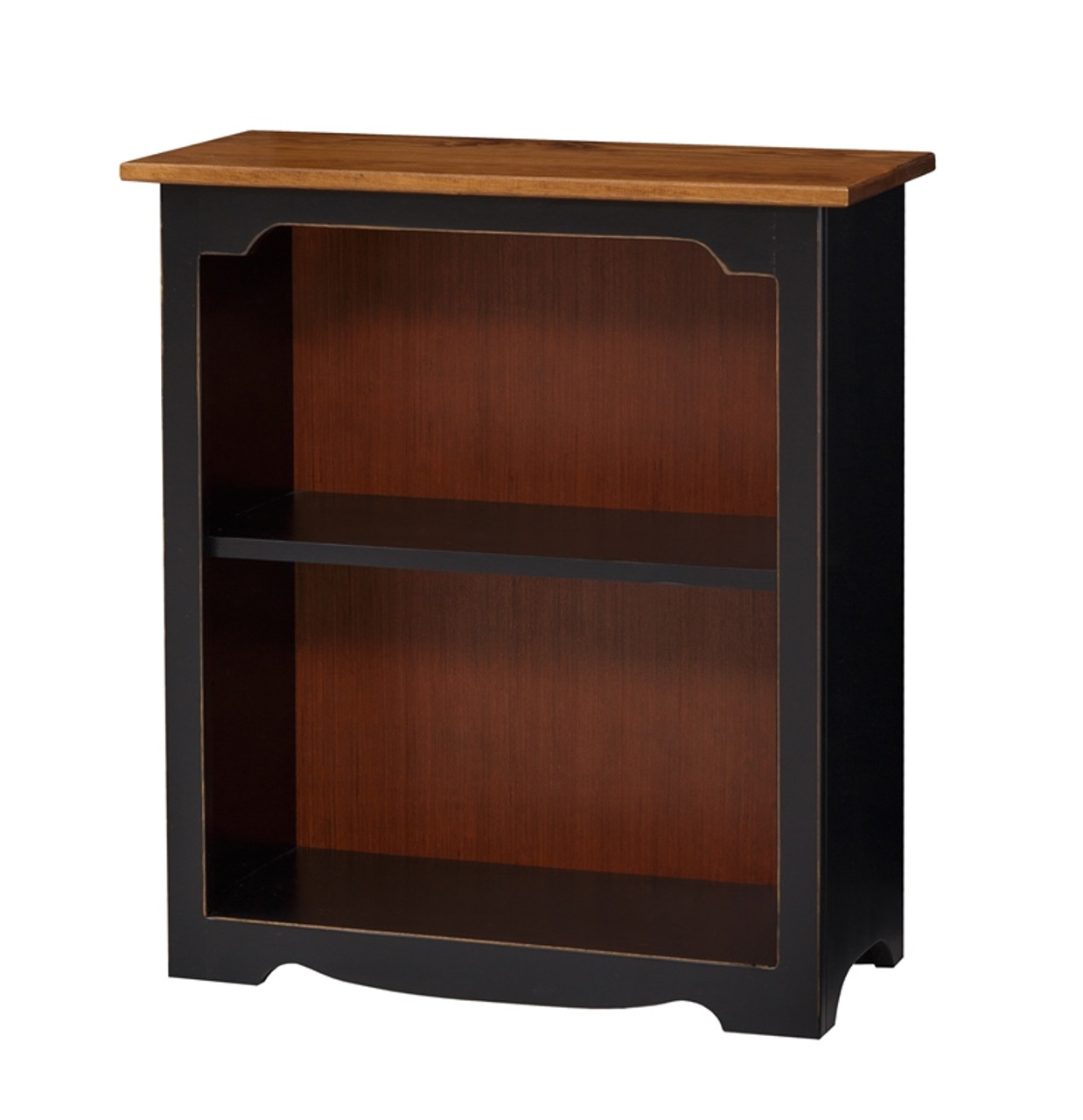 Pine Open Bookcase Small