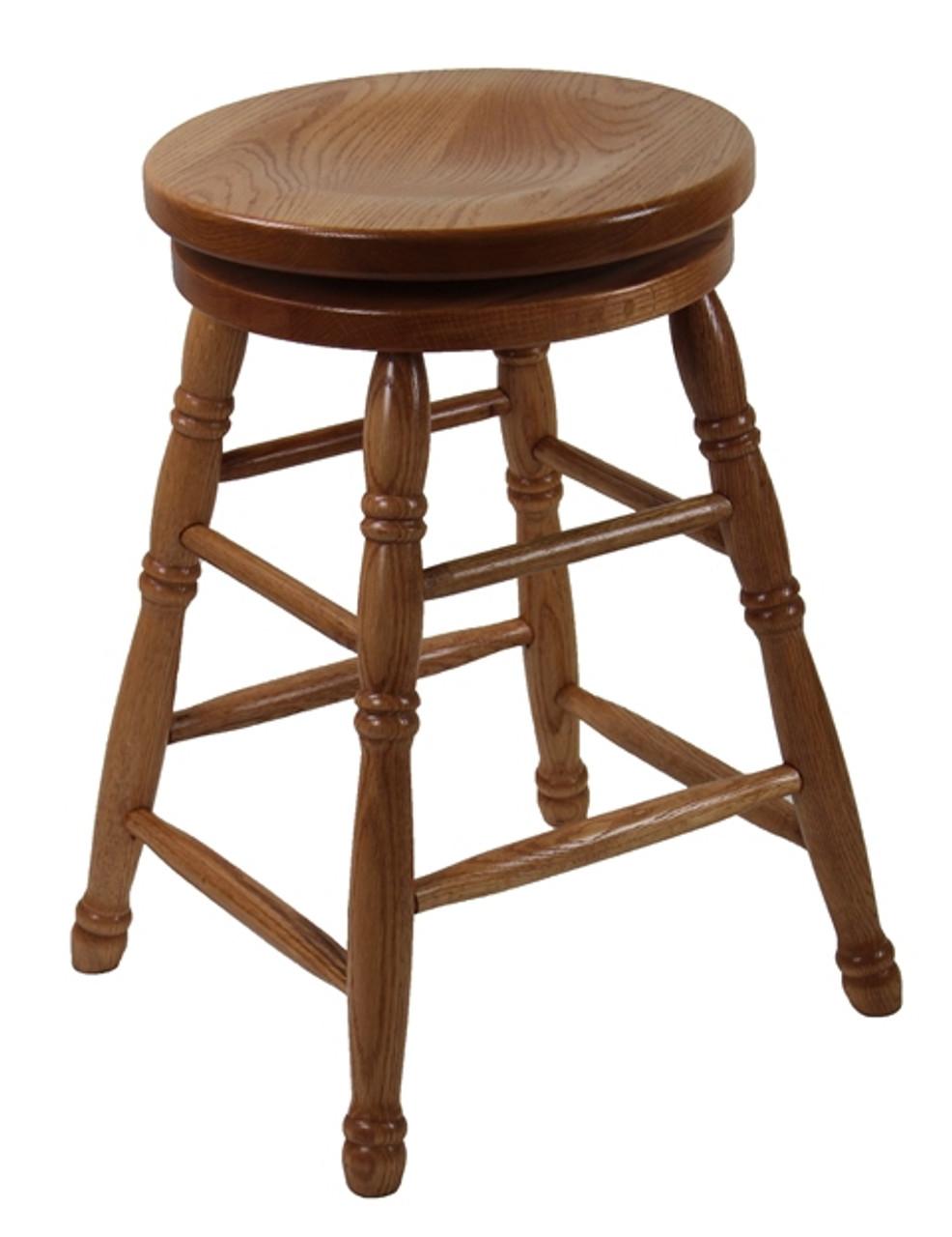 Fabulous Pio 24 Swivel Round Top Barstool Ibusinesslaw Wood Chair Design Ideas Ibusinesslaworg
