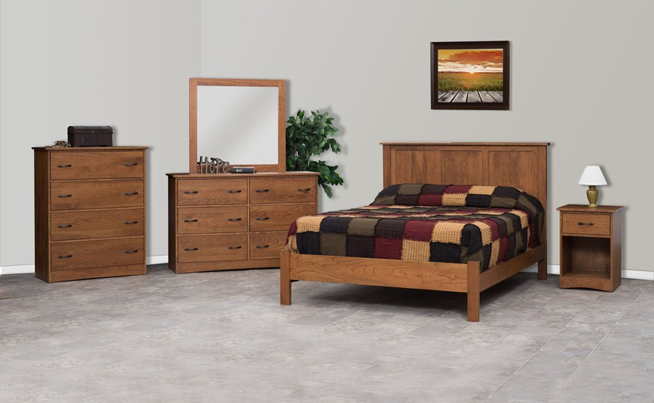 Dutch Standard 5 Piece Bedroom Set Whispering Pines Furniture