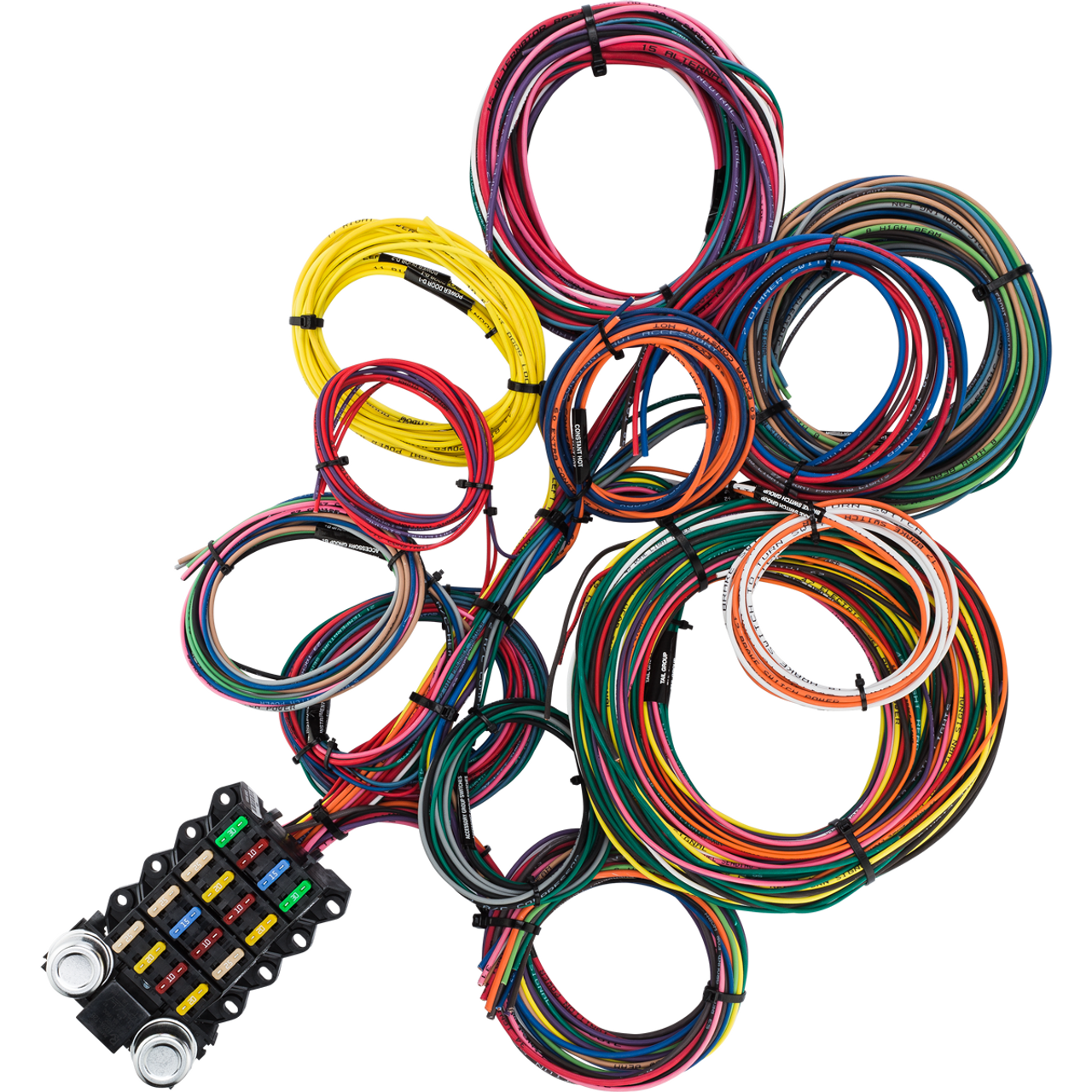 Awesome 20 Circuit Wiring Harness Wiring Diagram Wiring Digital Resources Indicompassionincorg