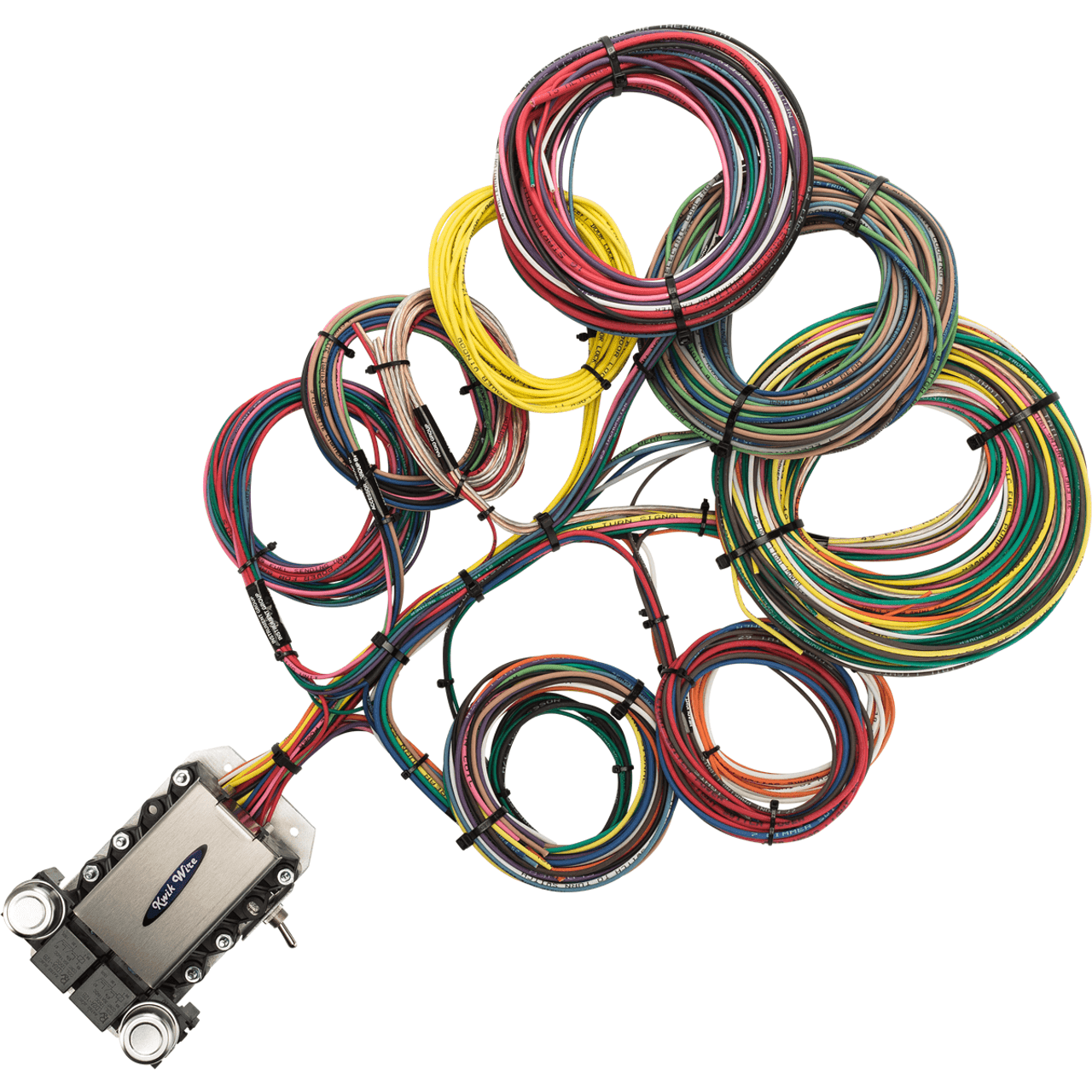 Universal Wiring Harness 20 Circuit Kit Diagrams Ford Wire Kwikwire Com Electrify Your Ride Custom Automotive Kits