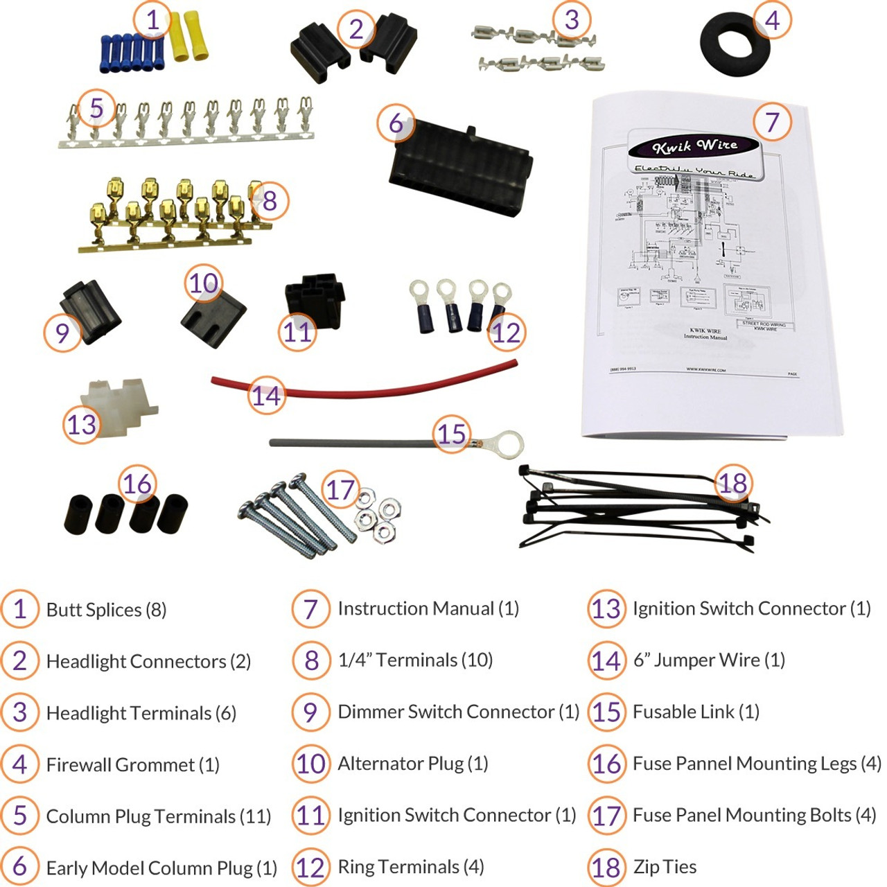 Budget Harness Install Kit Electrify Your Ride Wiring Firewall Grommet