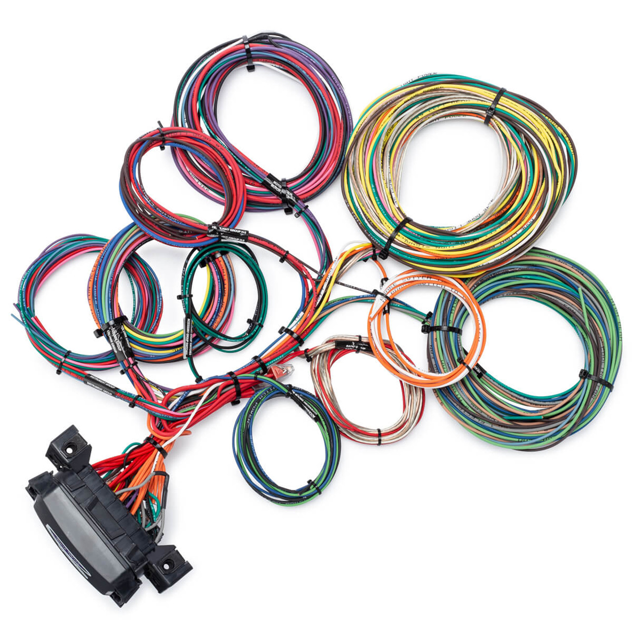 14 circuit waterproof wire harness kwikwire com electrify your ride Ford Trailer Wiring Harness Diagram