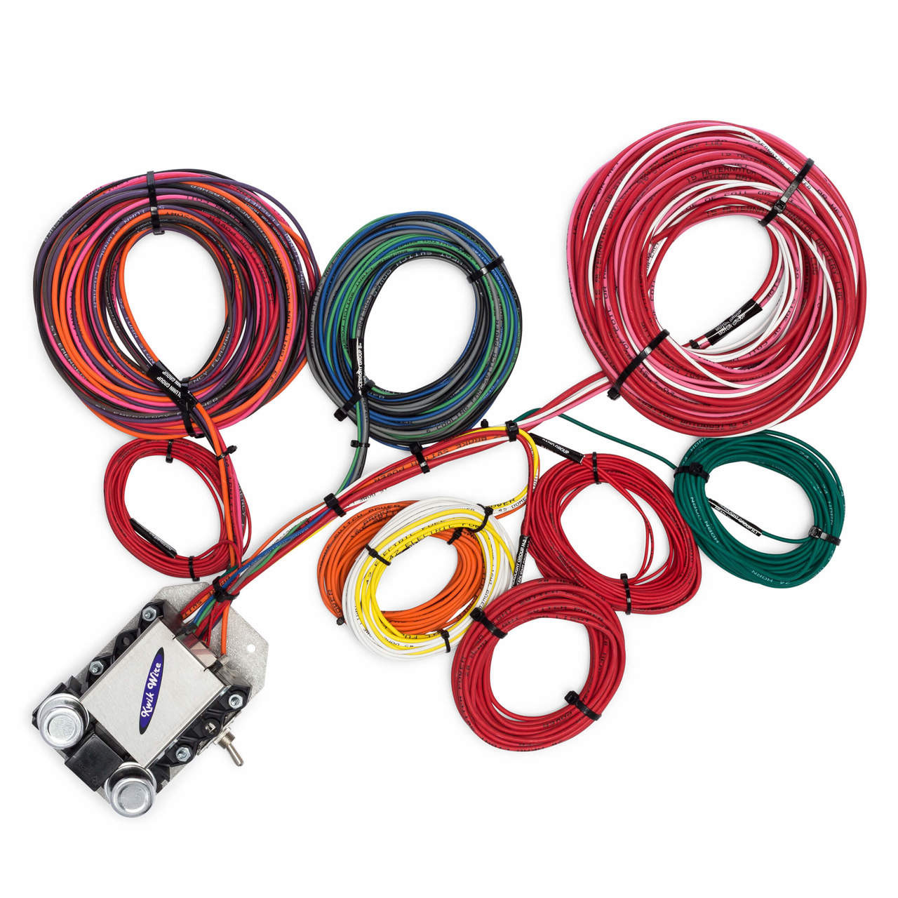 14 circuit trunk mount wire harness kwikwire electrify your ride Locomotive Wiring -Diagram 14 circuit trunk mount wire harness