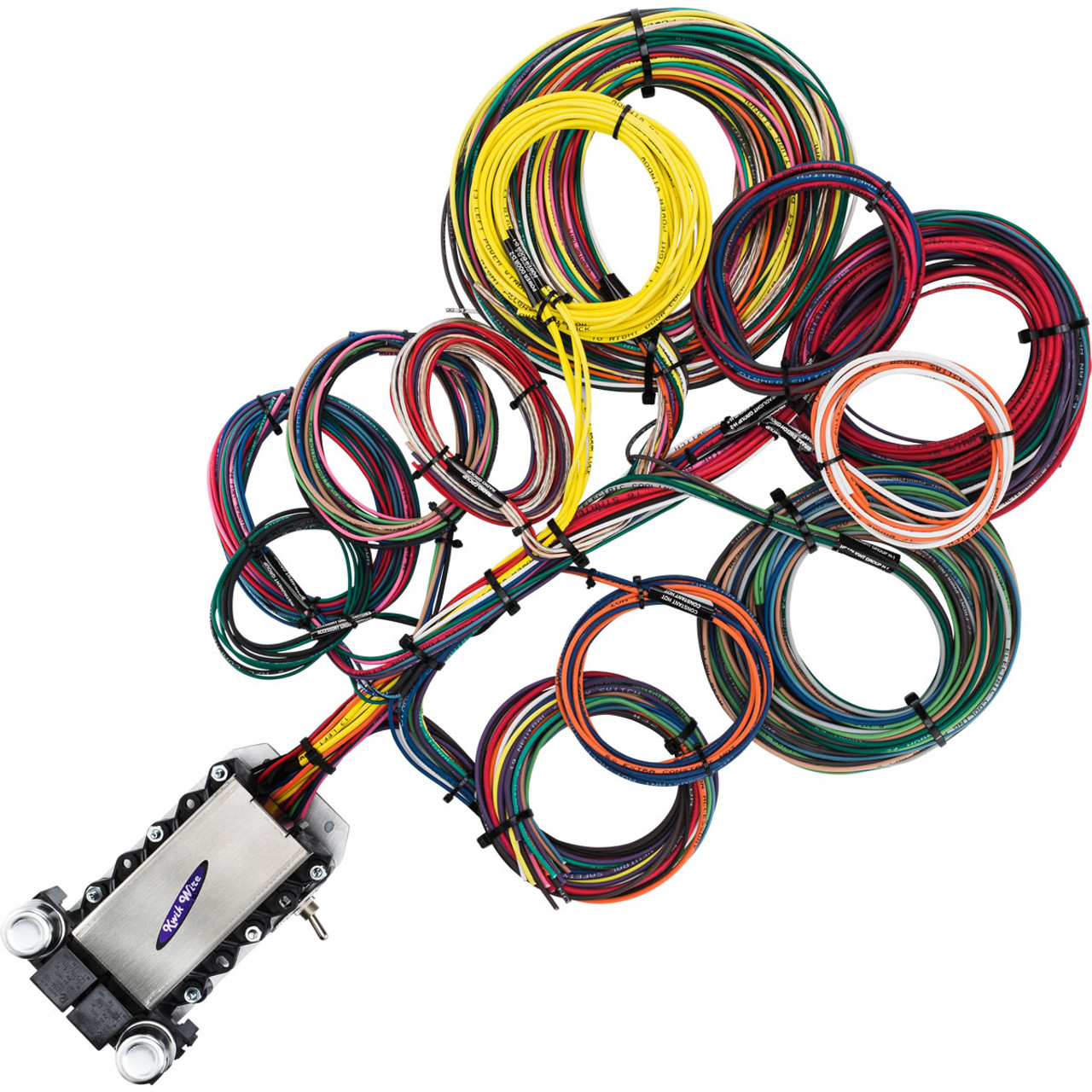 3 Circuit Universal Wiring Harness Kit Diagram Libraries 22 Wire Kwikwire Com Electrify Your Ride22