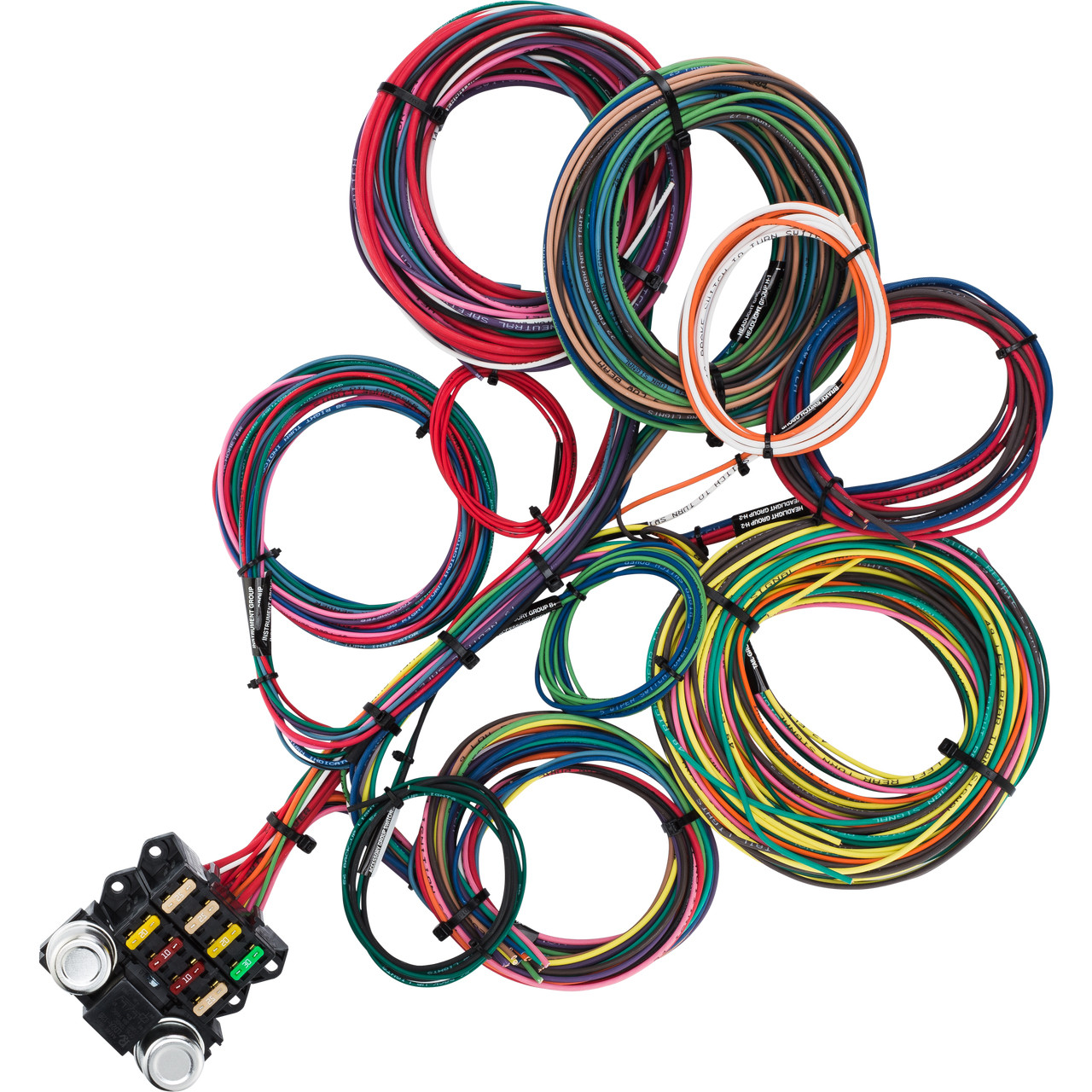 8 circuit budget wire harness kwikwire com electrify your ride8 circuit budget wire harness