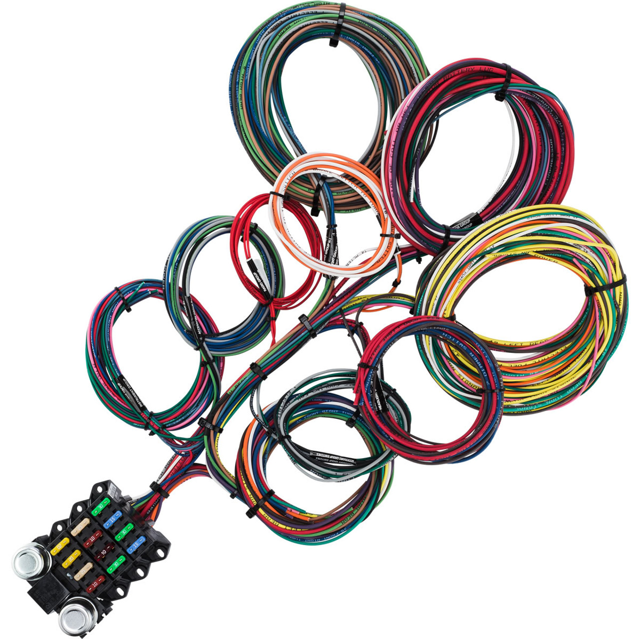 14 circuit budget wire harness kwikwire com electrify your rideKwik Wire Ford Alt Diagram #16