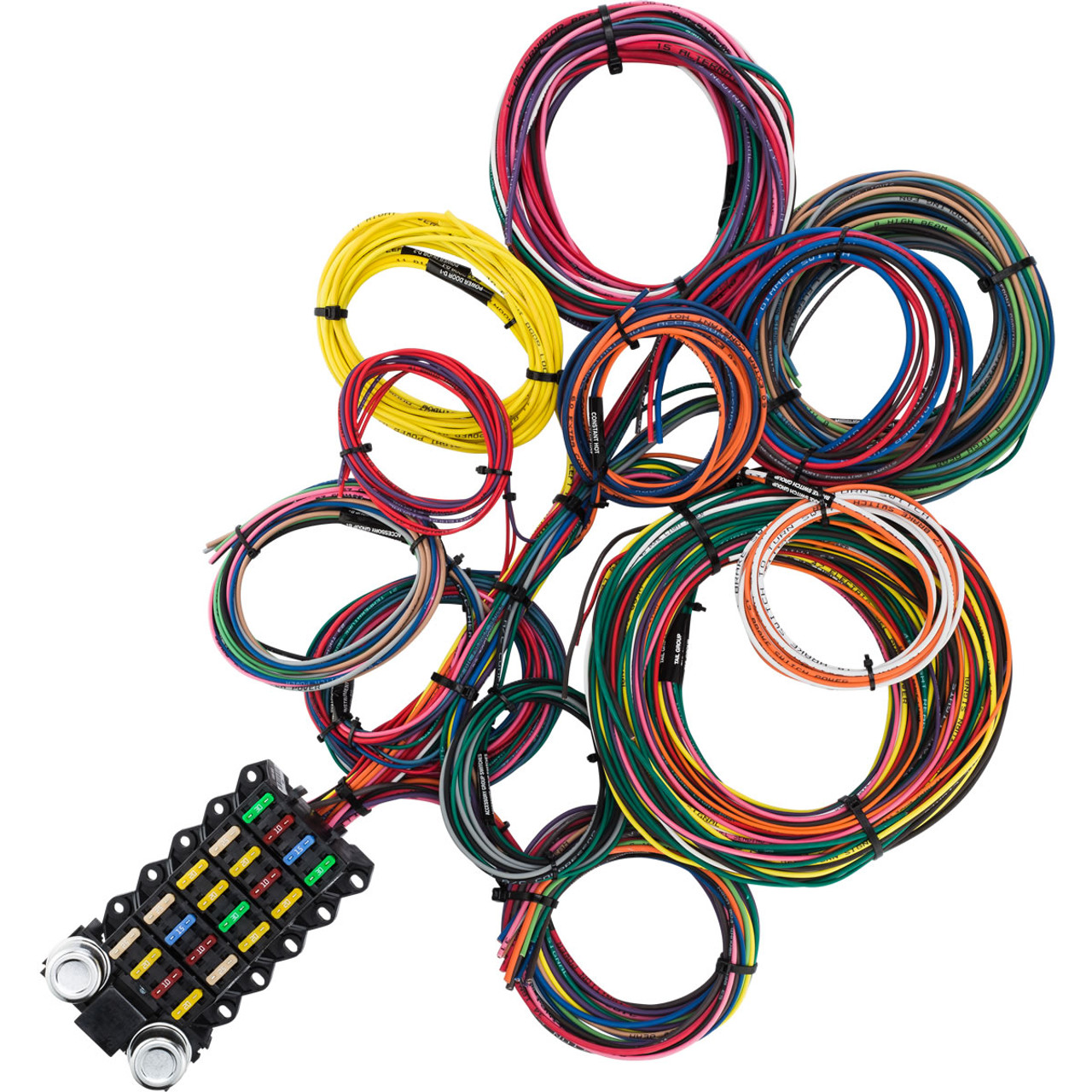 22 circuit budget wire harness kwikwire com electrify your ride22 circuit budget wire harness