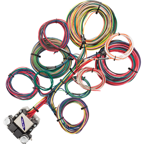 22 Circuit Wire Harness - KwikWire.com | Electrify Your Ride on universal fuel rail, universal battery, stihl universal harness, construction harness, universal radio harness, universal fuse box, universal ignition module, universal miller by sperian harness, universal air filter, universal steering column, universal equipment harness, universal heater core, lightweight safety harness,