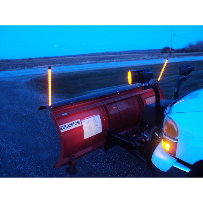 lighted plow marker kwikwire com electrify your ride