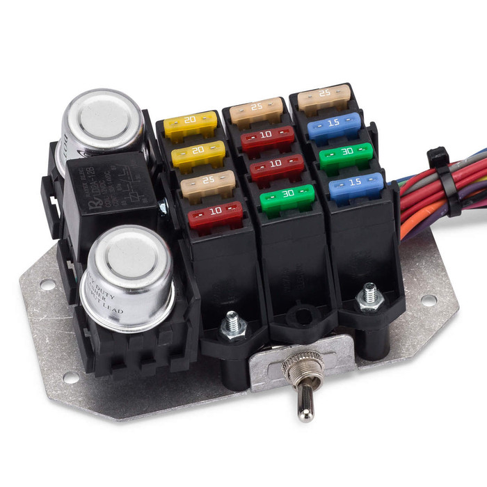 14 circuit trunk mount wire harness kwikwire electrify your ride Automotive Wiring Harness Connectors 14 circuit trunk mount wire harness