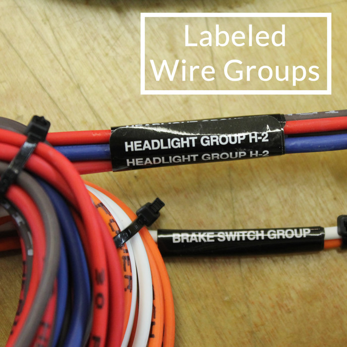 22 circuit wire harness Trailer Wiring Harness