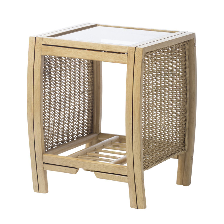 CENTURION LIGHT OAK RATTAN SET