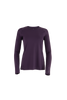 Hailey Long Sleeve Crew - Grape Royale