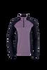 Athena Quarter Zip - Purple Ash