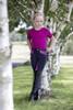 USG Kid's Knee Patch Breech - Navy/Pink