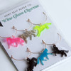 Equestrian Horse Wine Charms - Set of Six