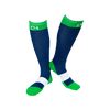 C4 Riding Socks - Navy//Green