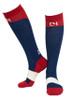 C4 Riding Socks - Navy/Red