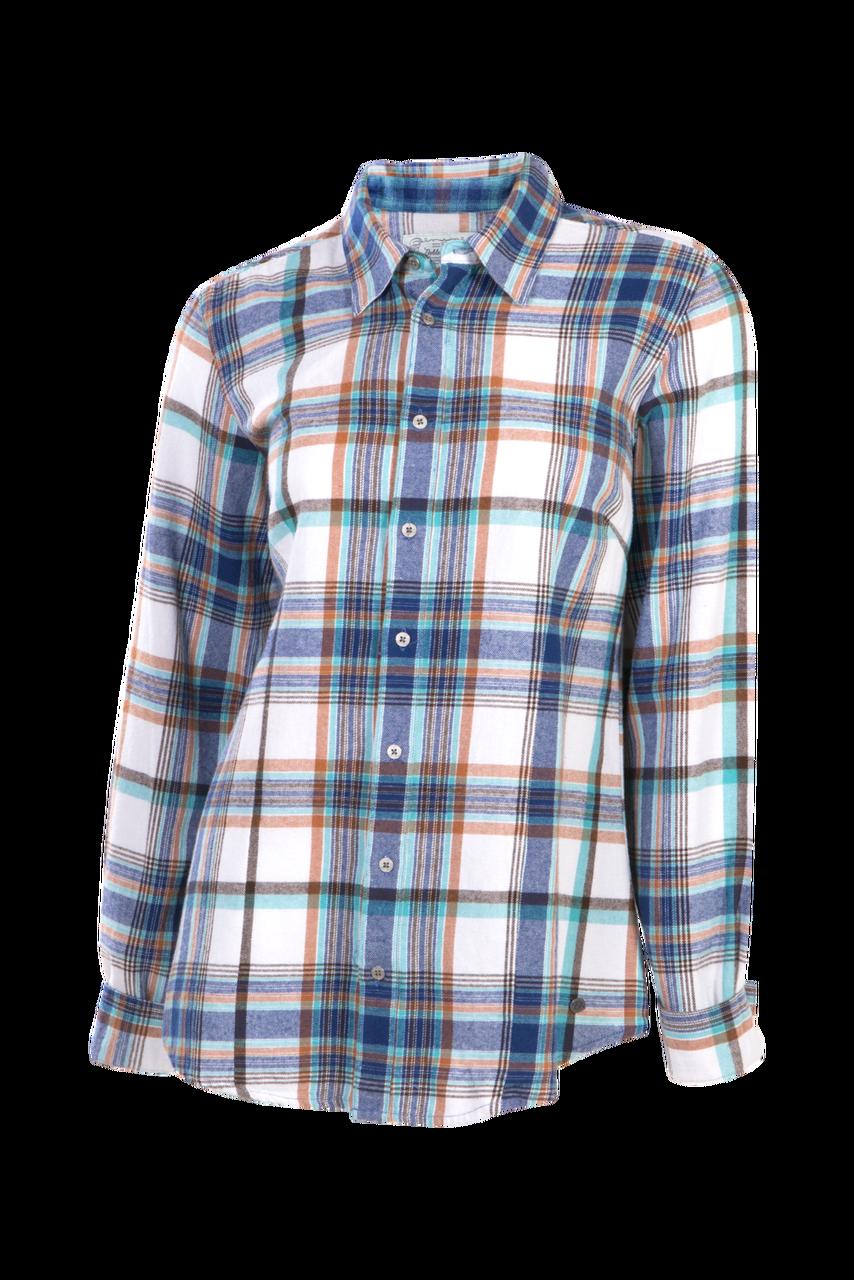 53d1047ebd Downtown Flannel Shirt - Blueprint Large Plaid - The Posh Pony Boutique