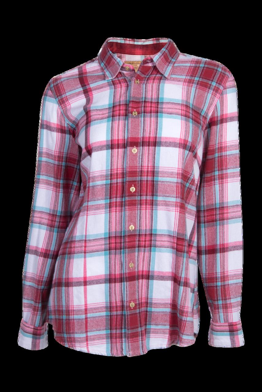b89e5e6047 Downtown Flannel Shirt - Merlot Large Plaid - The Posh Pony Boutique