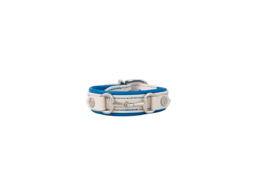 On The Bit Bracelet - White / Brilliant Blue